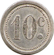 10 Centimes (Guise) – reverse
