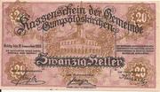 20 Heller (Gumpoldskirchen) -  obverse