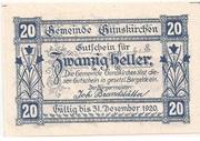 20 Heller (Gunskirchen) -  obverse