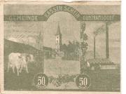 50 Heller (Guntramsdorf) -  obverse