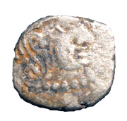 1 Drachm - Kumaragupta I - Gupta Dynasty – obverse