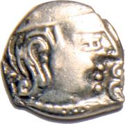 1 Drachm - Chandragupta II – obverse
