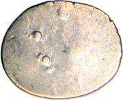 ½ Drachm (Late Gupta, Malwa Region) – reverse
