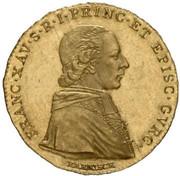 1 Ducat - Franz Xaver – obverse