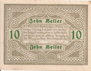 10 Heller (Gurten) -  reverse