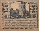 50 Heller (Gutau, Hundsdorf, Erdmannsdorf) -  reverse