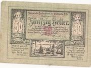 50 Heller (Gutenbrunn) – obverse