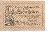10 Heller (Gutenbrunn) – obverse