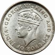 4 Pence - George VI – obverse