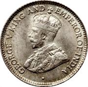 4 Pence - George V – obverse