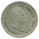 ⅛ Guilder - William IV – obverse