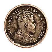 4 Pence - Edward VII – obverse
