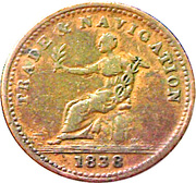 1 Stiver - William IV – obverse