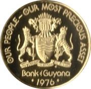 5 Cents (Jaguar - Set Issue) – obverse