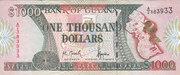 1 000 Dollars – obverse