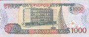 1 000 Dollars – reverse