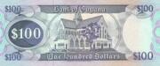 100 Dollars – reverse