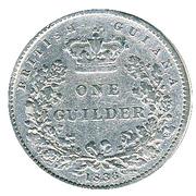 1 Guilder - William IV – reverse
