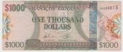 1000 Dollars -  obverse