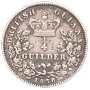 ¼ Guilder - William IV – reverse