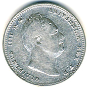 1 Guilder - William IV – obverse