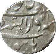 1 Rupee - Shah Alam II [Mahadji Rao] (Burhanpur mint) – reverse