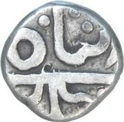 ½ Rupee - Shah Alam II [Jiyaji Rao] – obverse