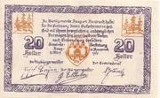 20 Heller (Haag am Hausruck) -  reverse
