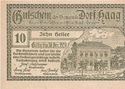 10 Heller (Haag) – reverse