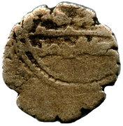 """Qandhari Dirham """"Damma"""" - Muhammad bin Abdullah - 943-973 AD – reverse"""