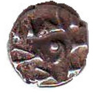 """Qandhari Dirham """"Damma"""" - Anonymous Amir  - 854-1011 AD – obverse"""