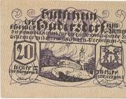 20 Heller (Hadersdorf am Kamp) – obverse