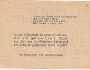 10 Heller (Hadersdorf am Kamp) – reverse