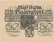 50 Heller (Hadersdorf am Kamp) – obverse