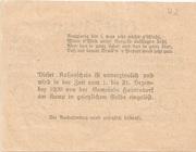 50 Heller (Hadersdorf am Kamp) – reverse
