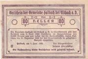 80 Heller (Haibach bei Aschach) -  obverse