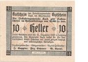 10 Heller (Haid bei Mauthausen) -  obverse