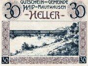30 Heller (Haid bei Mauthausen) -  obverse