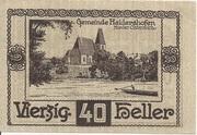40 Heller (Haidershofen) -  obverse