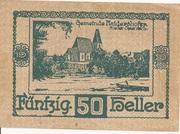 50 Heller (Haidershofen) – obverse