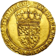 1 Couronne d''or - Albert of Bavaria – obverse