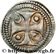 Petit Denier or Maille - Anonymous – reverse
