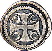 "Maille ""½ Denier"" - Johanna of Constantinople – reverse"