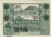 20 Heller (Hainburg) -  obverse