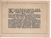 40 Heller (Hainburg) -  reverse