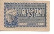 20 Heller (Zweckverband der Gemeinden des G.Bez. Hainfeld) -  obverse