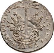 25 Centimes (Western Republic) – reverse