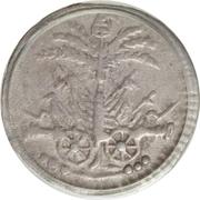6 Centimes (Western Republic) – obverse