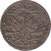 25 Centimes (Western Republic) – obverse