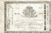4 Gourdes (Government of South Haiti) – obverse